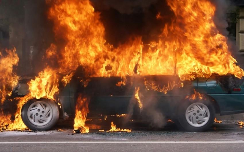 Gürcüstanda erməni deputatın avtomobilləri yandırılıb