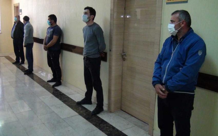 Zaqatalada karantini pozan 5 nəfər cərimələndi