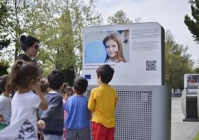 Делегация ЕС организовала фотовыставку на Бакинском приморском бульваре