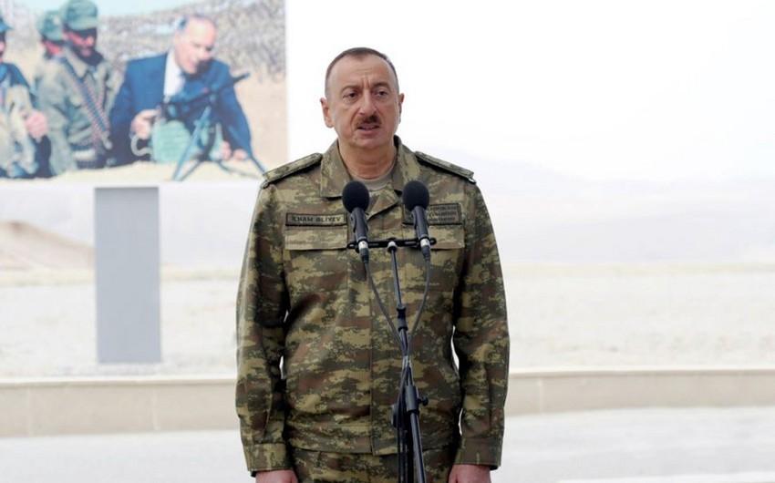 Ali Baş Komandan: Azərbaycan Ordusu dünya miqyasında 50 ən güclü ordu sırasındadır