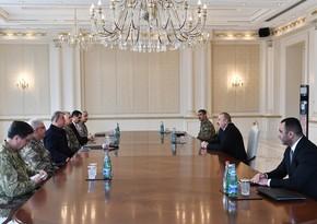 Ильхам Алиев принял министра национальной обороны Турции