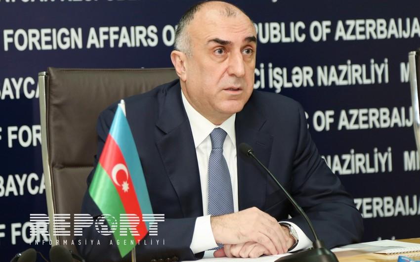 Elmar Məmmədyarov: Rusiya, Azərbaycan və Ermənistan prezidentlərinin görüşü konstruktiv olub