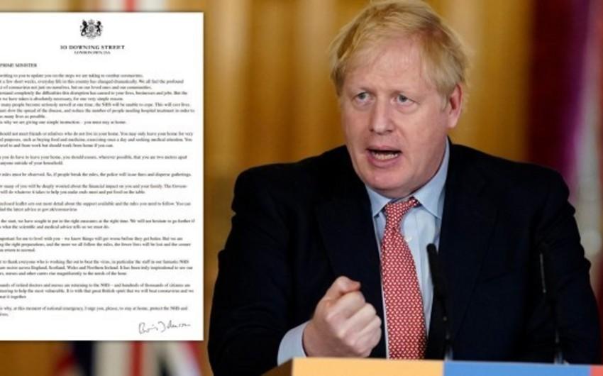 Boris Consonun koronavirusla bağlı məktubları satışa çıxarıldı