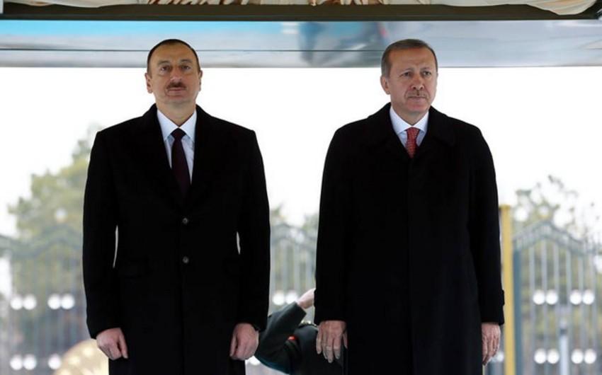 Президент Ильхам Алиев: Глубоко потрясены известием о гибели и ранении людей в результате взрыва в Стамбуле