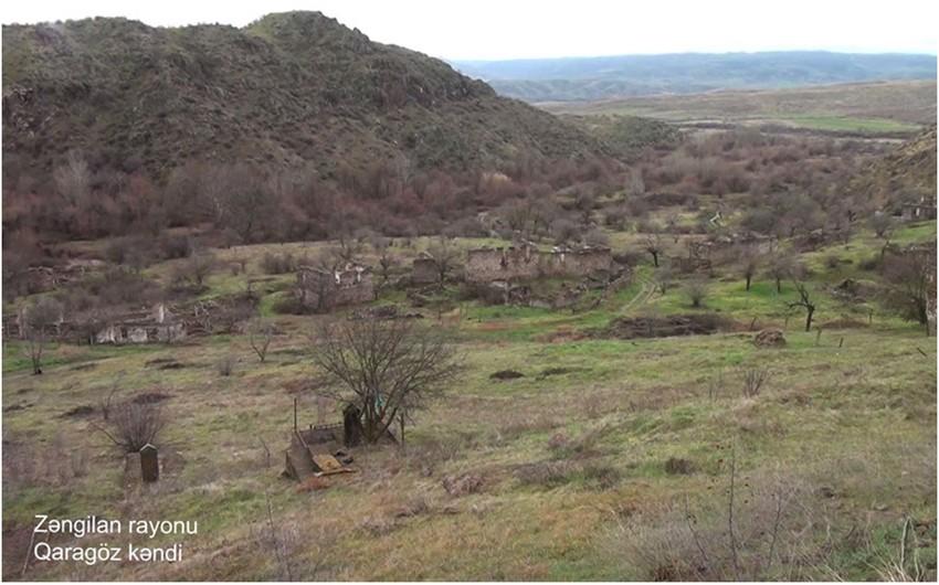 Zəngilanın Qaragöz kəndi -