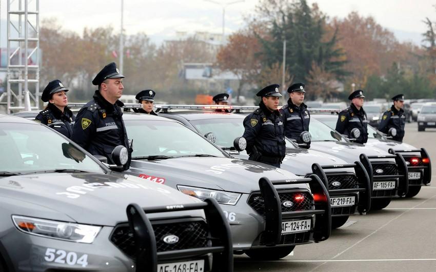 Gürcüstan polisi gücləndirilmiş iş rejiminə keçib
