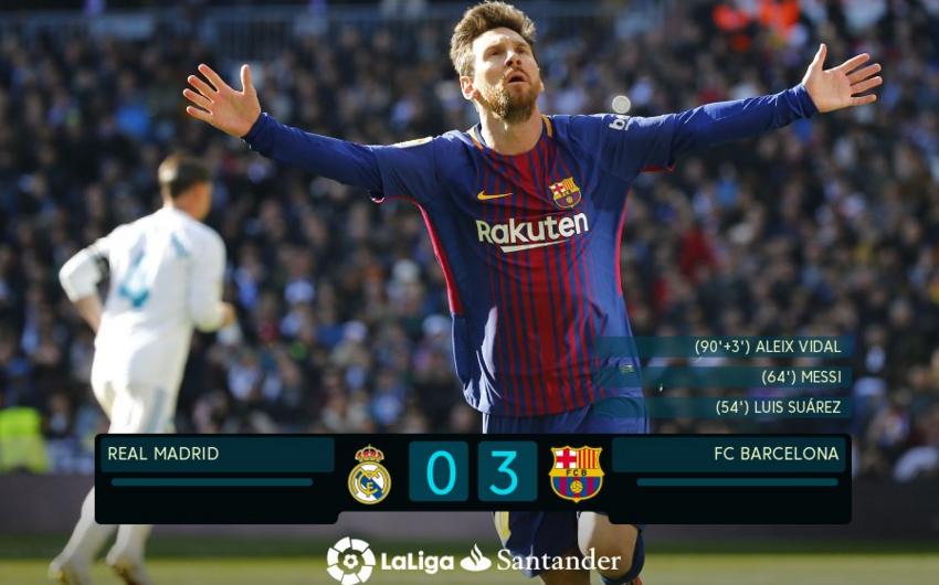 """""""Barselona"""" """"El-Klasiko""""da """"Real Madrid""""i böyük hesabla məğlub edib - VİDEO"""