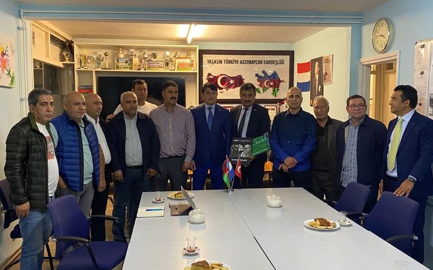 В Нидерландах состоялась встреча с представителями азербайджанской диаспоры