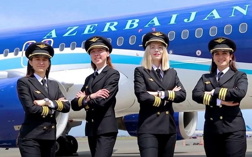 AZAL-da qadın pilotlar işə başladı - VİDEO