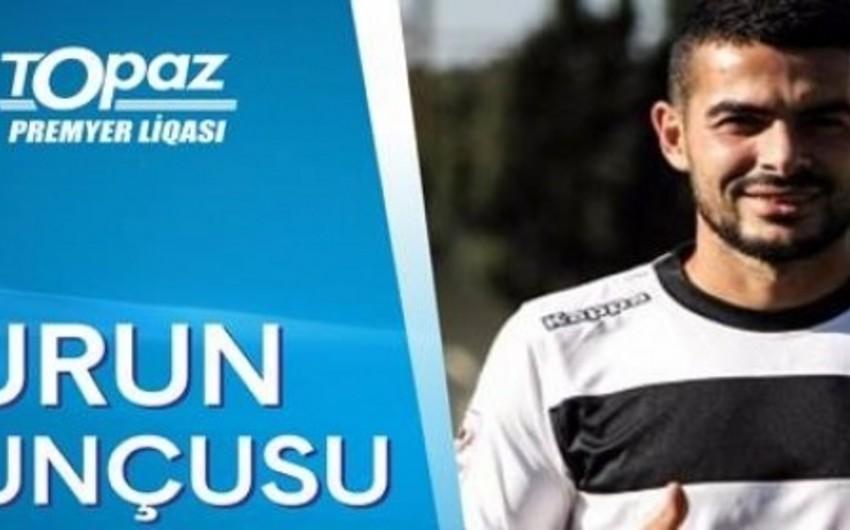 Azərbaycan Premyer Liqasında ilk turun ən yaxşı futbolçusu müəyyənləşib