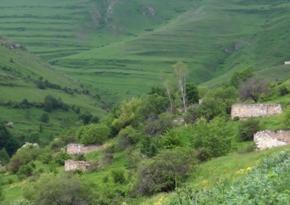 Footage from Sheylanli village of Lachin