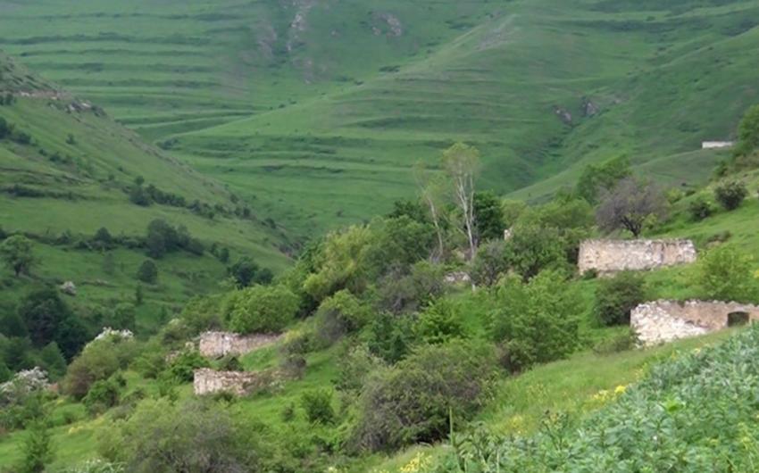 Laçının Şeylanlı kəndindən görüntülər - VİDEO