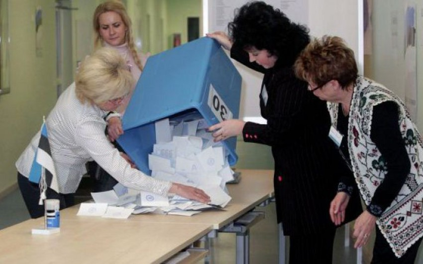 Estoniyada keçirilən parlament seçkilərində hakim partiya qalib gəlib