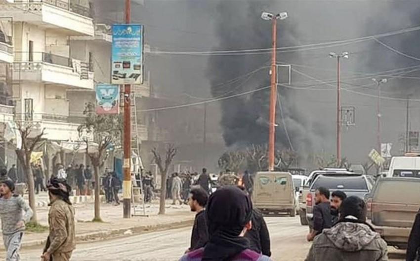 Suriyada partlayış baş verib, 8 nəfər ölüb, 35-i yaralanıb