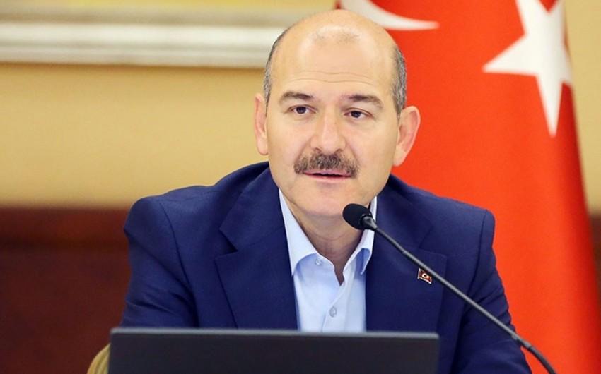Türkiyənin daxili işlər naziri istefa ərizəsini geri götürdü