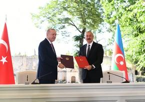 Azerbaijan and Turkey sign Shusha Declaration on Allied Relations