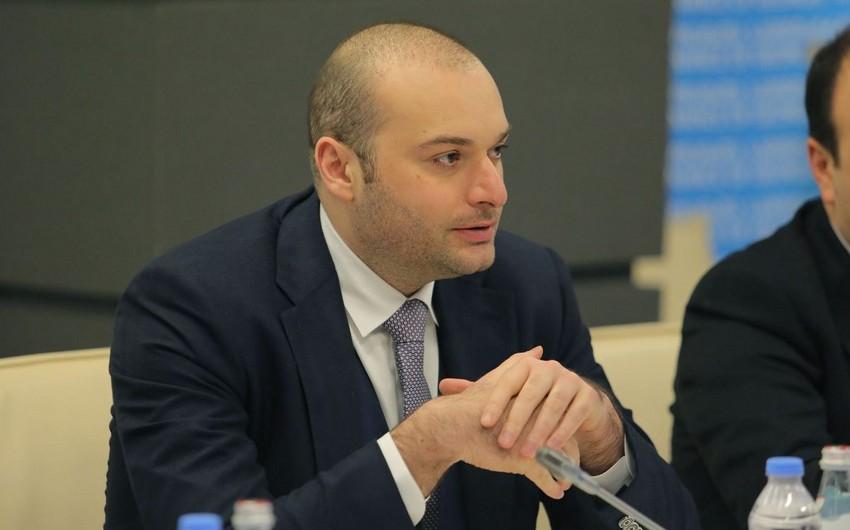 Gürcüstanın baş naziri  Yerevanda səfərdədir
