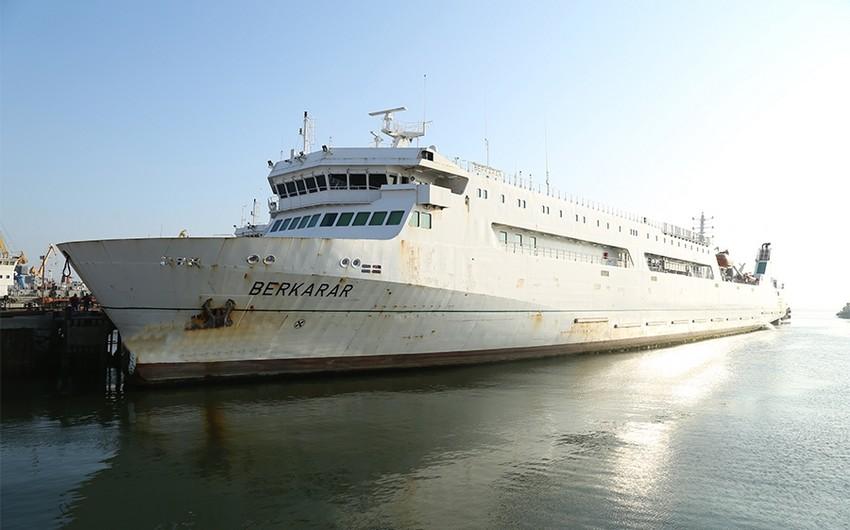 Türkmənistan gəmisi Bakıda təmir olunur
