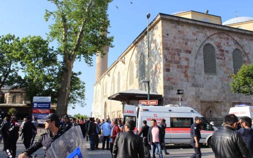 Türkiyədə terror aktı törədilib: 1 ölü, 7 yaralı - VİDEO