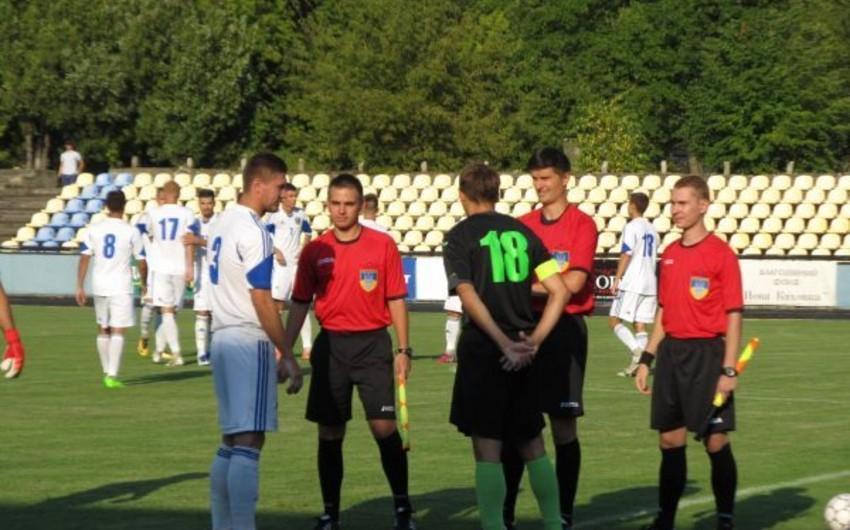 Во II дивизионе чемпионата Украины по футболу произошел необычный случай - ВИДЕО