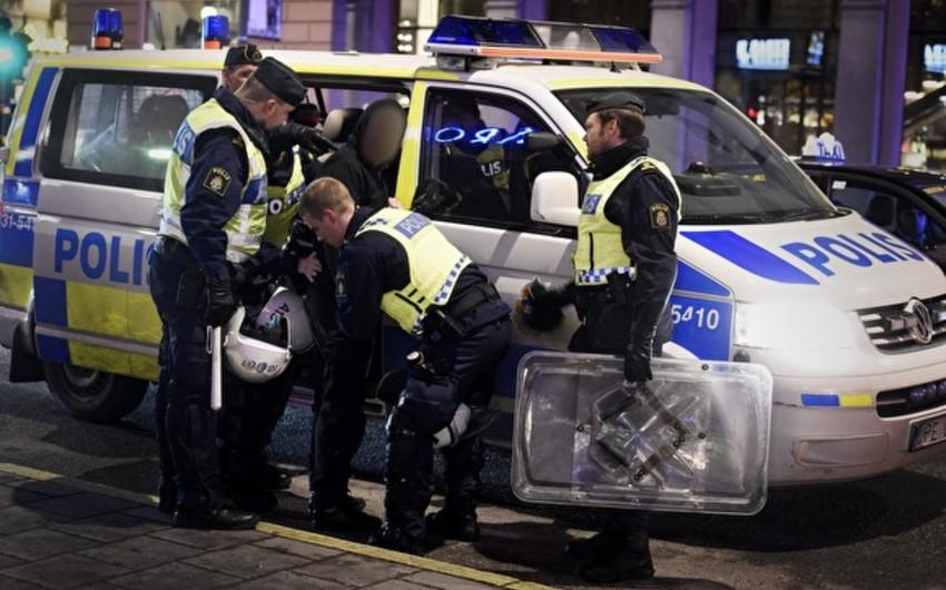 İsveçdə keçirilən nümayişdə 23 nəfər həbs edilib