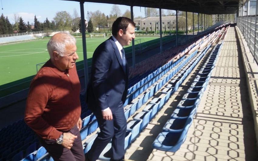 AFFA-nın baş katibi Tovuz şəhər stadionunda olub