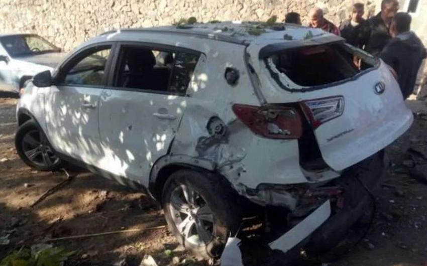 Ermənistanda avtomobildə baş verən partlayışda iki nəfər ölüb