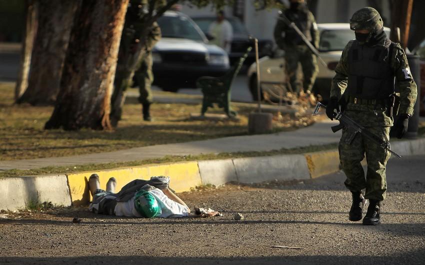 Meksikada 9 nəfər narkotacirlərarası münaqişənin qurbanı olub