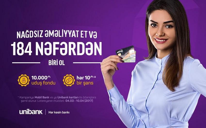 Unibank yeni lotereya keçirir