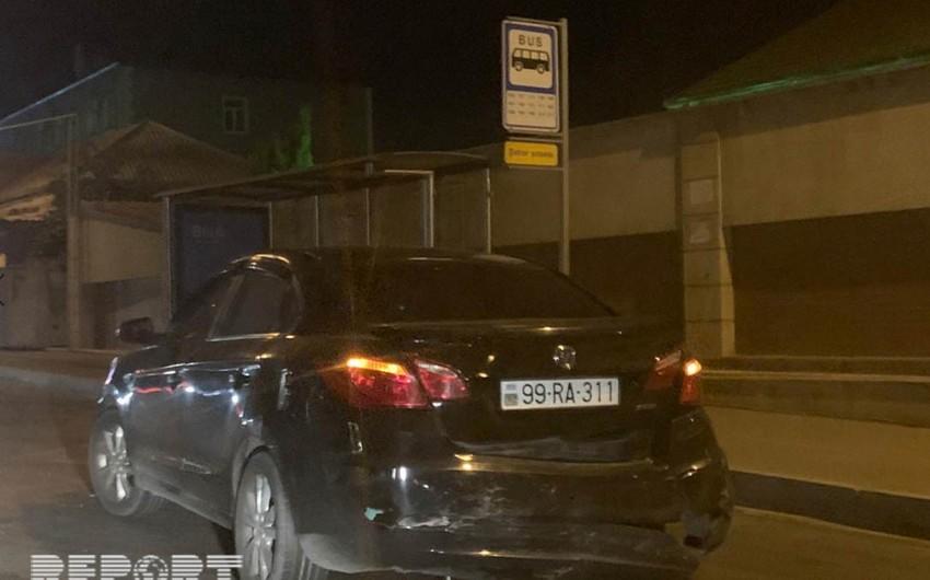 Sabunçu rayonunda yol qəzasında bir nəfər xəsarət alıb - FOTO