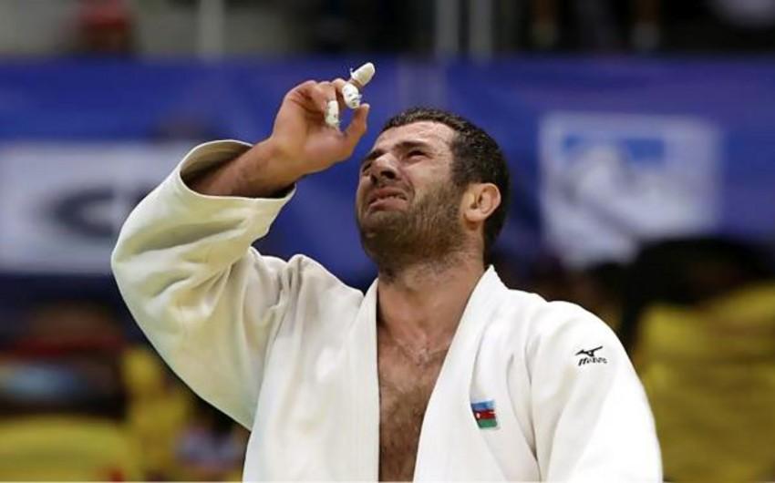 Elxan Məmmədov cüdo üzrə Avropa çempionu olub - VİDEO