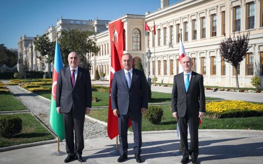 Azərbaycan-Gürcüstan-Türkiyə XİN başçılarının üçtərəfli görüşünün vaxtı açıqlanıb