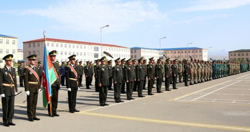 Naxçıvan Qarnizonu Qoşunlarında növbəti ixtisas hazırlığı kursları başa çatıb