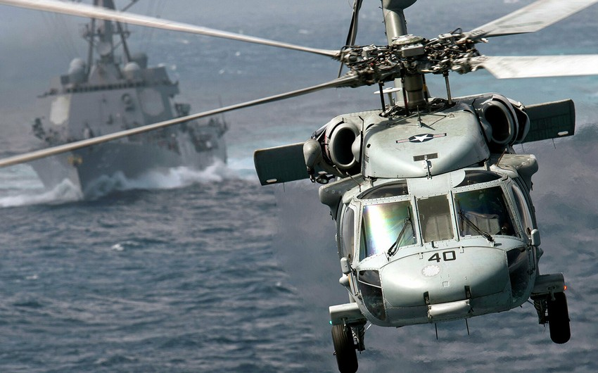 US navy helicopter crashes off San Diego