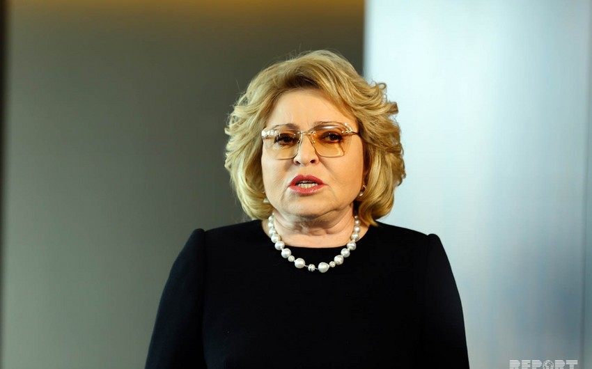 Russian Federation Council chief: Russia grateful to Azerbaijan