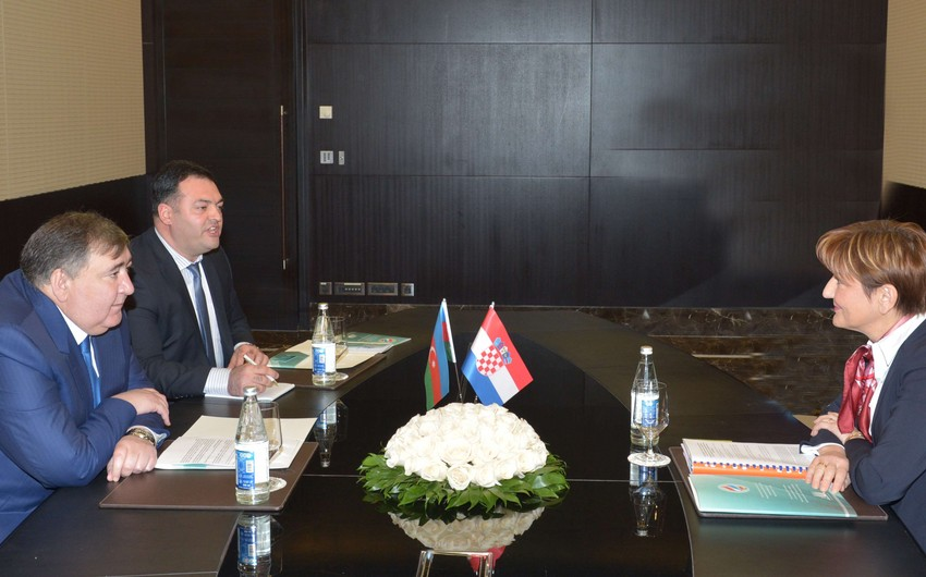 Bakıda Azərbaycan-Xorvatiya İqtisadi əməkdaşlıq üzrə Birgə Komissiyanın ilk iclası keçirilib