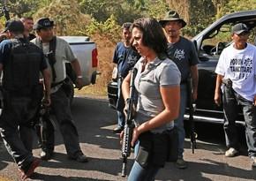 Meksikada narkokartellə mübarizəyə qadınlar başçılıq edirlər