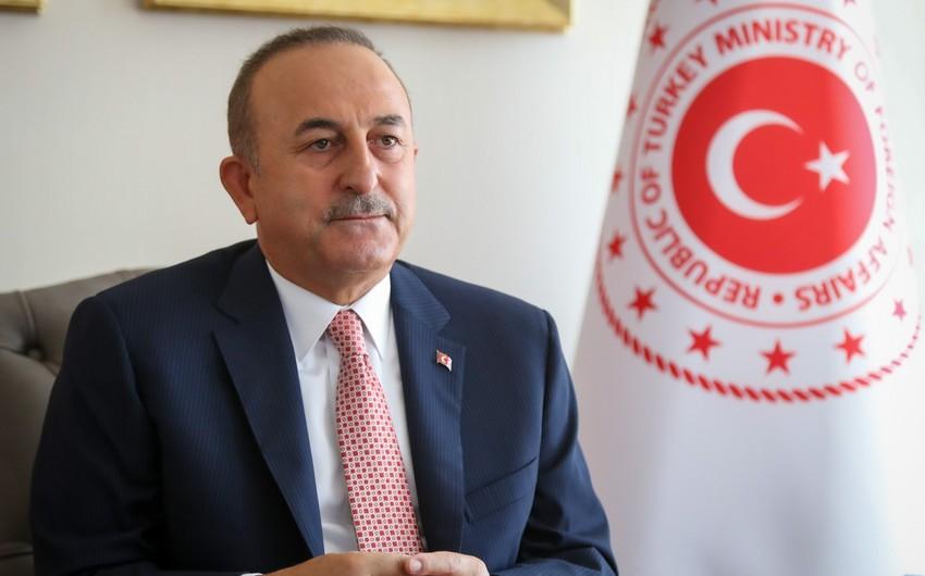 """Çavuşoğlu: """"Türkiyə ilə Misir ilkin şərtlər irəli sürmədən diplomatik təmaslara başlayıb"""""""