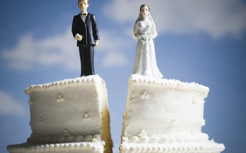 Bu ilin ilk 10 ayında 10 mindən çox boşanma halı qeydə alınıb