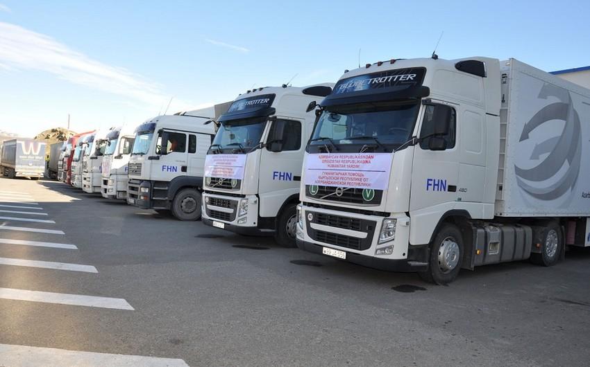 Azərbaycan Qırğızıstana humanitar yardım göndərib
