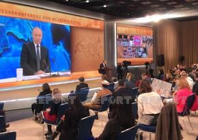 Путин: Рассчитываем, что международные посредники перейдут от слов к делу в Карабахе