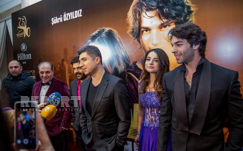 Ozjan Deniz holds Gala of his new movie in Baku - PHOTOS
