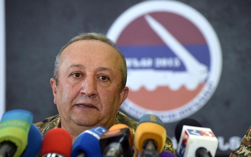 Erməni general: Mən dövlət sirrini yaymamışam