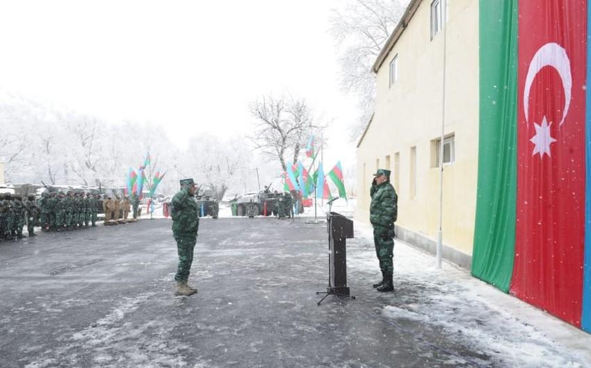 На азербайджано-армянской границе начала действовать новая воинская часть