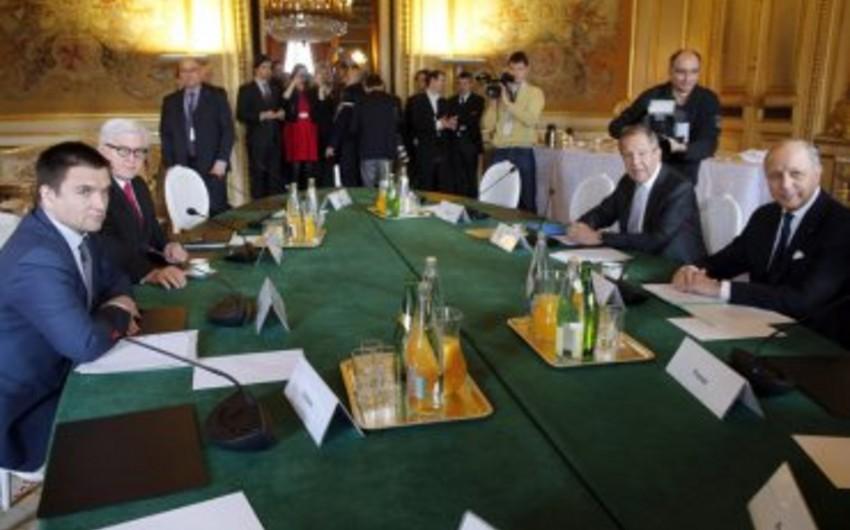 Minsk razılaşmasının həyata keçirilməsi ilə bağlı nazirlərin görüşü keçiriləcək
