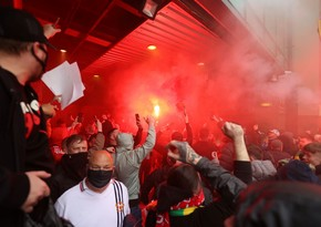 Фанаты «Манчестер Юнайтед» вновь пытаются сорвать игру с «Ливерпулем»