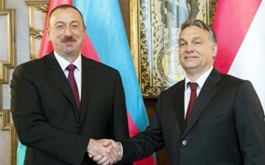 Azərbaycan və Macarıstan arasında strateji əməkdaşlıq sazişi imzalanıb