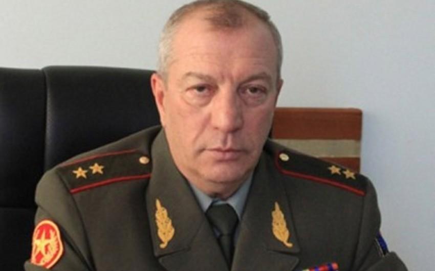 Ermənistan ordusu Baş Qərargah rəisinin birinci müavini işdən çıxarılıb