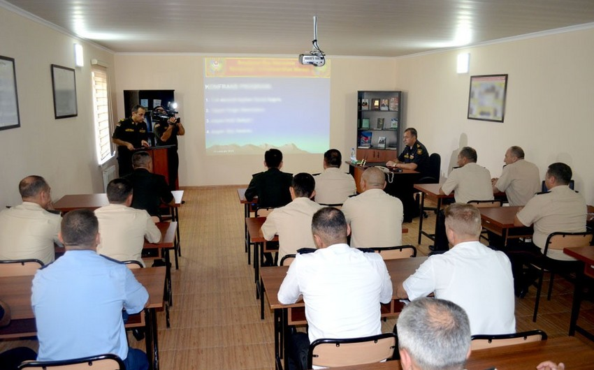 Сonference held for military topographers