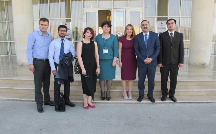 SOCAR-ın Qobustan Regional Təlim Mərkəzində BP şirkətinin nümayəndələri ilə görüş keçirilib